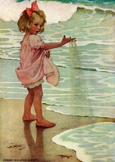 Story Book Sundays - A Child's Book of Old Verses - Jessie Wilcox-Smith