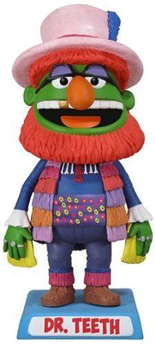 Funko The Muppets: Dr. Teeth Wacky Wobbler http://popvinyl.net #funko #funkopop #popvinyls