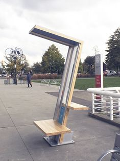 Design Group specializes in exhibit design for public spaces and interpretive environments. Urban Furniture, Street Furniture, Pipe Furniture, Solar Charging Station, Charging Stations, Outdoor Digital Signage, Vintage Industrial Furniture, Industrial Lamps, Public Space Design