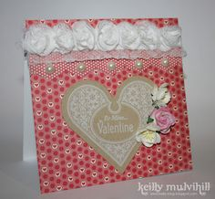 Valentines Love Heart Card
