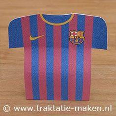 fc barcelona traktatie (ook andere voetbal clubs staan erbij)