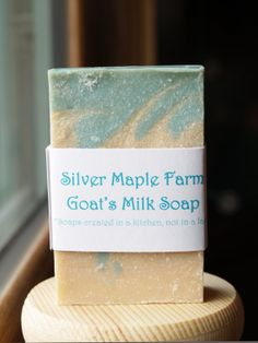 SnowCream Goat's Milk Soap, Say Farewell to Winter!!