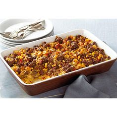 VELVEETA Tex-Mex Beef and Potatoes