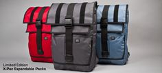 limited edition e-pac rambler and vandal backpacks