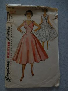 Vintage Simplicity Sewing Pattern 4706  Cocktail Party by serine23, $14.00