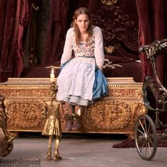 Exclusive: See NEW images of Emma Watson as Belle in the live-action Beauty and the Beast