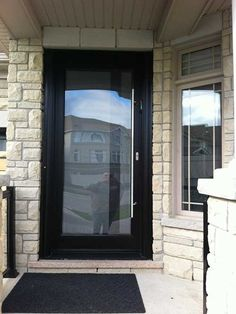Modern Exterior Doors again black very popular colour for front doors, very modern