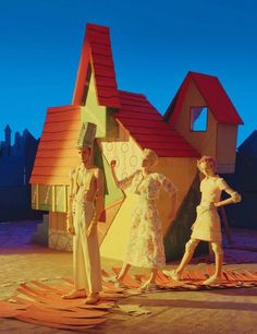 """""""Babes in Toyland"""" by Tim Walker for W Magazine April 2014"""