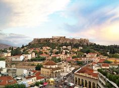 """Athens is the capital of Greece and one of the oldest cities in the world, and is sometimes referred to as the cradle of Western civilization. Here""""s what you need to know about planning your trip to Athens - how to get there and get around, essential information for visiting the archaeological sites and museums, the best view points and where to stay/eat!"""