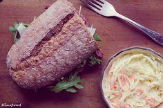 ¡Bocata de Roast Beef con ensalada americana! | llinxfood