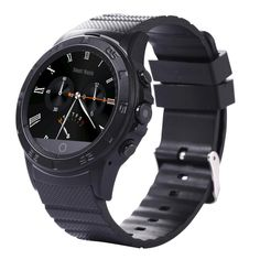 Inkach Smart Watch Sports Smart Bluetooth Watch GSM SIM Camera Heart Rate Detection For Smartphone Gift (Black ). Compatiable for iOS and Android phones. Third party chat applications (facebook,QQ,WeChat,whatsapp,Skype,MSN). Control music, news applications. Life waterproof. Network type:Single SIM card.