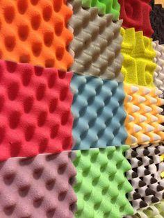 ACÚSTICA: Acoustic foam wall: