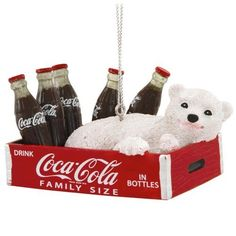 52 best Coca-Cola Christmas tree ornaments images on Pinterest ...