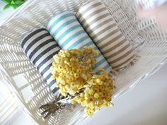 Valentine Gift Set of 3 Turkish Towel Peshtemal by TheAnatolian, $70.00