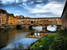 Ponte Vechio (ponte Velha), #Florença - Itália por Jo@net