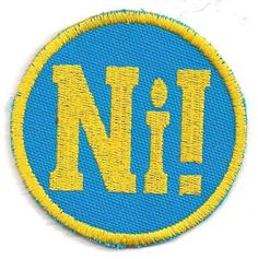 Ni patch by PopCulturePatches | $7