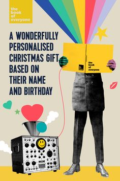 Just the thing for Christmas, birthdays or special events - or even just because they're special and deserve it. Filled to the brim with amazing personalised facts and wonderful curiosities about the world the person was born into. Unique and high quality, these books will last a lifetime.