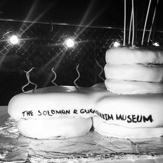 Whats a birthday without amazing food familyfriends and design?  @guggenheim Cake of my #fave building in #NYC created by my pal Christina @christinaclark5060 @guggenheim #design #architecture #foodie
