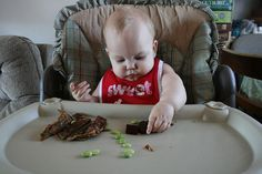 Avoiding iron deficiency with baby led weaning - GREAT ideas for iron-rich meals with absorption tips!