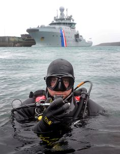 """A team of Royal Navy clearance divers have taken part in NATO Exercise Northern Challenge in Keflavik, Iceland. """"Don't forget the diver!"""" (Yes showin me age remembering that one)."""