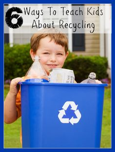 Here are 6 Ways To Teach Kids About Recycling that are sure to become a fun part of your Earth Day adventure as well as leave a lasting effect on their lives and the life of our planet