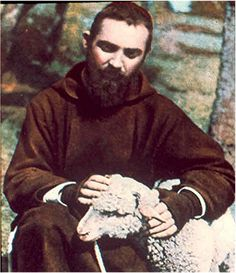 Padre Pio  started to have apparitions when he was a child.     One evening Padre  Pio was in a room, on the ground floor of the  convent, ...
