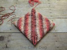 One skein wonder - Grammy's favorite, easy to knit, potholders.