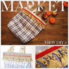DIY: Klasicky neklasická nákupná taška