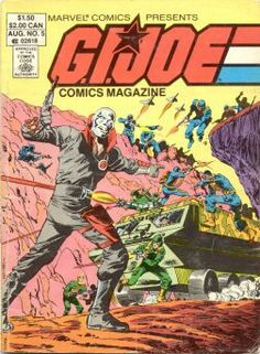 G.I. Joe Comics Magazine (Marvel, 1986) #5  [digest sized magazine that reprints GI Joe: Real American Hero #12, #13, and #14]