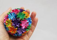 origami - kusudama Venus