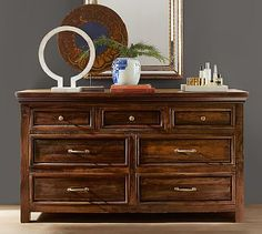 Bowry Reclaimed Wood Extra-Wide Dresser #potterybarn