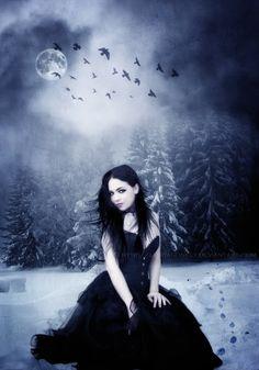 Dark Pinup GirlsPhoto: Gothic Beauty » Dark Pinup Girls