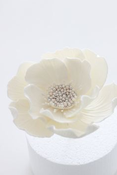 Wedding flower in sugar
