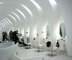 Hairdressing salon - interior