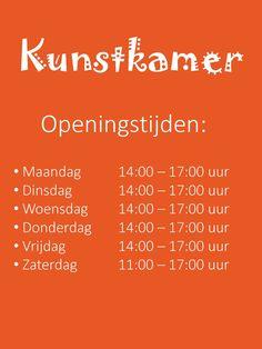 openingstijden van de Kunstkamer Brandevoort