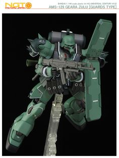 [Modelers-G] HGUC AMS-129 Geara Zulu (Guards Type)