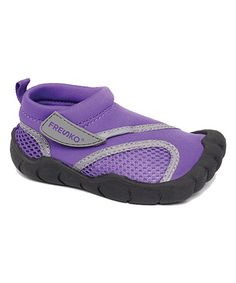 Love this Purple Contrast Toe Water Shoe - Kids on #zulily! #zulilyfinds