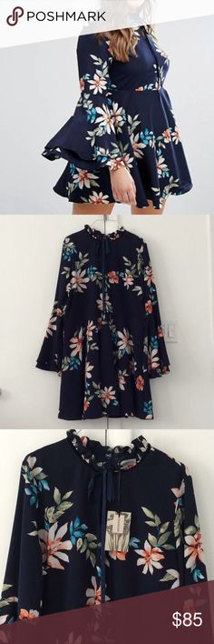 ASOS Curve plus size Alice & You dress size 16 NWT ASOS Curve plus size Alice & You dress. Size 16 US (UK size 20 as marked). New with tags. Super cute dress! Very well made and fabric feels super luxe. No trades. ASOS Curve Dresses