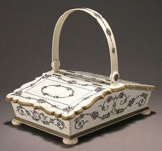 sewing baskets and containers | Sewing Basket. (c. 1860 Visakhapatnam) from Walpoles - The UK's ...