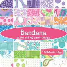 Bandana by Me and My Sister Designs - Fat Quarter Shop