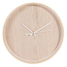 Horloge en bois D 31 cm ANDERS