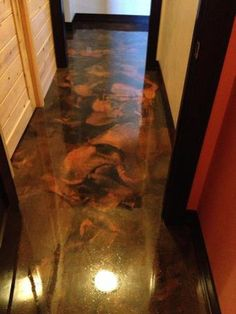 Epoxy Marble Metallic Floor Las Vegas Nevada