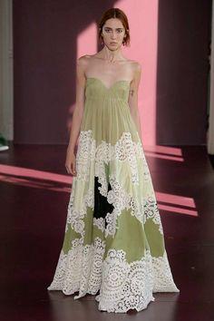 Valentino Fall 2017 Couture Fashion Show - Teddy Quinlivan