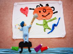 Creative Mom Turns Her Baby's Naptime Into Dream Adventures