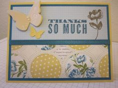 Thanks So Much by Stampin' Factory - Cards and Paper Crafts at Splitcoaststampers