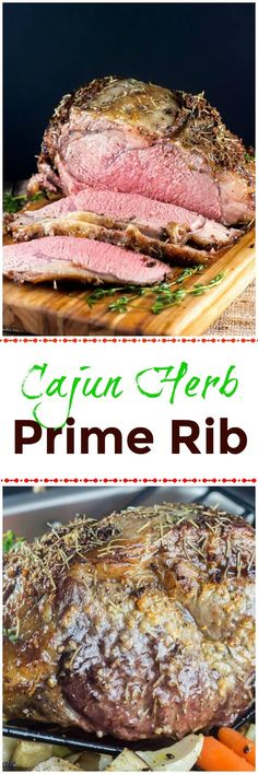 This Cajun Herb Prime Rib Roast, also known as a ribeye roast, will bring family and friends together around the #SundaySupper or Thanksgiving, Christmas, or holiday table to enjoy its tender and juicy roasted flavor. @certangusbeef #RoastPerfect #ad ~ https://FlavorMosaic.com