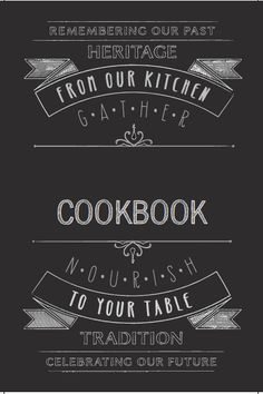 New cookbook cover template @heritagecookbook.com