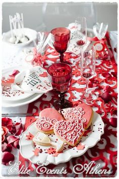 Amazing treats at a Valentine's Day party!  See more party ideas at CatchMyParty.com!