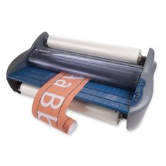 GBC Pinnacle 27 Roll Laminator, Photo Quality, 27 -Inch Width, 1.0 to 3.0 mm Thickness, NAP I or NAP II Film Compatibility, Gray (1701700) by GBC. $1644.53. For over 60 years the GBC brand has been a world leader in products that help consumers protect, preserve, secure, organize and enhance their printed materials. GBC binding and laminating machines and supplies help professionals finish documents quickly and easily with style and customization. The GBC Pinnacle 27 Roll Lamina...