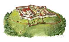 Nógrád Castle, Nógrád. It was called Novigrad by its once slavic inhabitants.